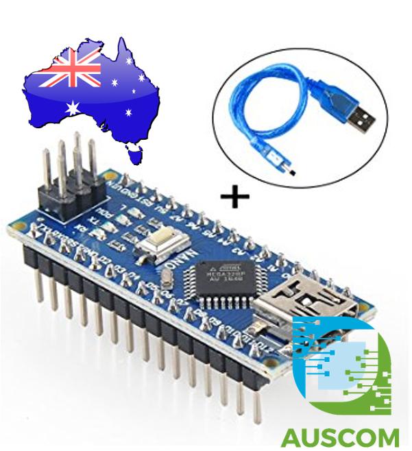 Arduino nano atmel atmega p r mini usb board