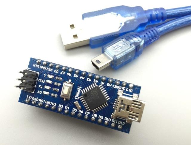 d66665f1d9b Arduino Nano 3.0 Atmel ATmega328P R3 Mini-USB Board + USB Cable ...