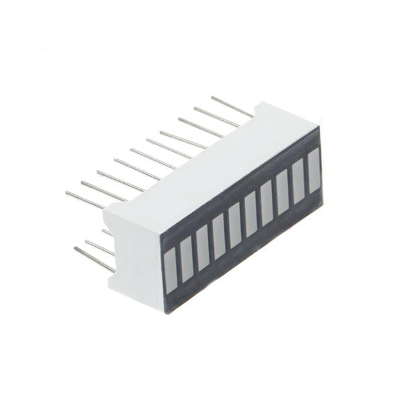 White 10-Segment LED BAR Graph Indicator DIP