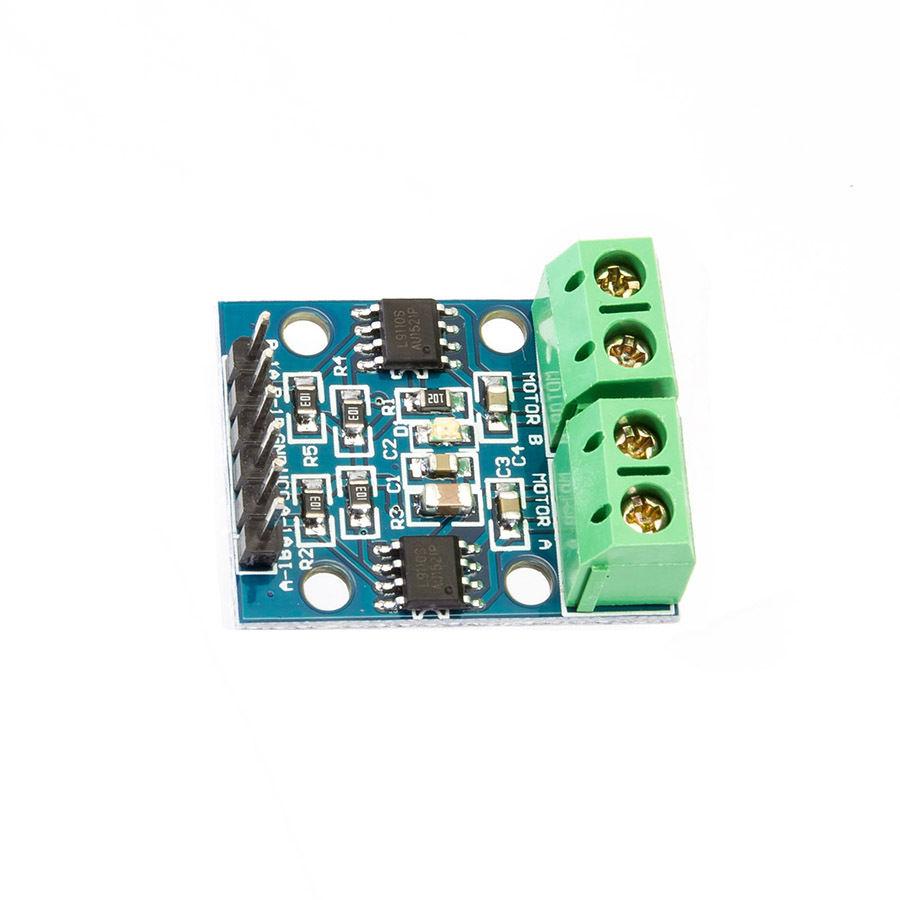 L9110s H Bridge Stepper Motor Dual Dc Driver Controller Module Driving Using Arduino