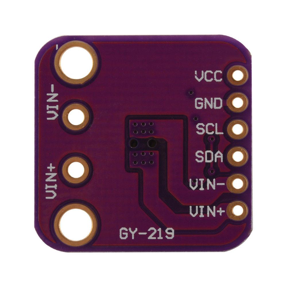 INA219 I2C/IIC Bi-directional Current Power Monitor Power Supply Detect  Sensor