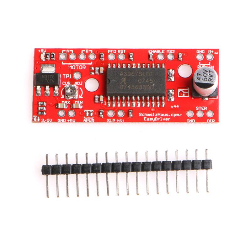 A3967 Easy` Driver Shield Stepper Motor Driver Module V44 for Arduino 3D Prin s!
